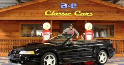 2000 Ford Mustang GT Convertible ProCharger – Black