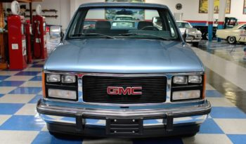 1988 GMC Sierra Pickup – Blue / Silver full