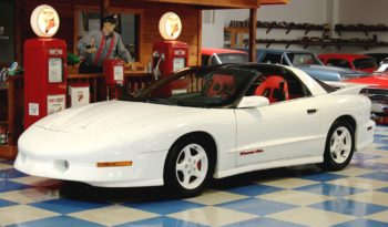 1995 Pontiac Firebird T-Tops – White full