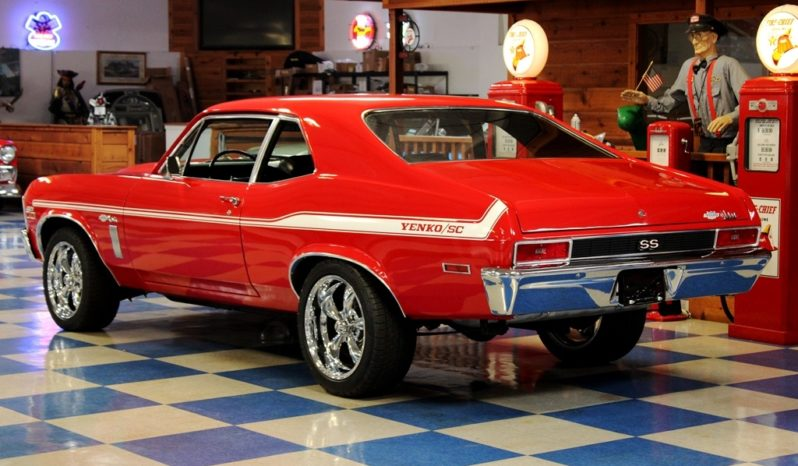 "1970 Chevrolet Nova Yenko ""Tribute"" – Red / White full"
