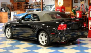 2000 Ford Mustang GT Convertible ProCharger – Black full