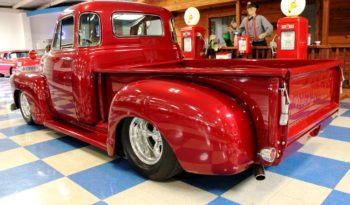 1955 Chevrolet 3100 5 Window Pickup – Burgundy full
