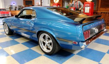 1969 Ford Mustang Mach 1 Cobra Jet 428 – Blue / Black full