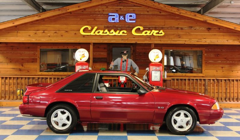 1993 Ford Mustang LX – Electric Red full