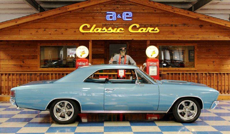 "1967 Chevrolet Chevelle SS ""Tribute"" – Nantucket Blue full"