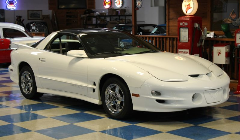 1999 Pontiac Firebird Trans Am T-Tops – White full