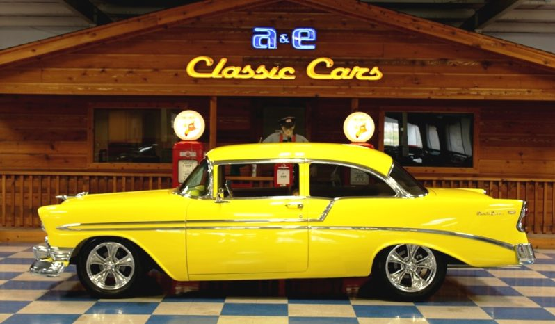 1956 Chevrolet Bel Air Resto Mod – Yellow full