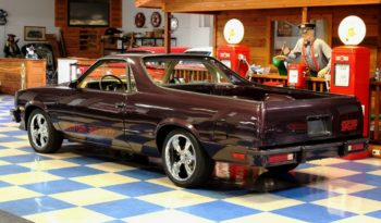 1986 Chevrolet El Camino – Plum full