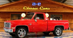 1982 Chevrolet Pickup – Victory Red