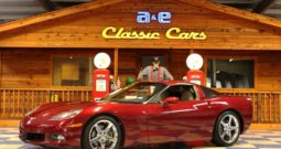 2006 Chevrolet Corvette – Monterey Red