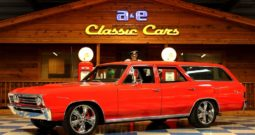 1967 Chevrolet Chevelle Wagon – Red