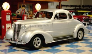 1938 Chevrolet Coupe – Silver Metallic full