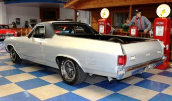 1972 Chevrolet El Camino – Silver / Black full