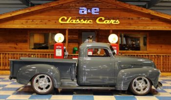 1953 Chevrolet 3100 Custom Pickup – Battleship Gray full