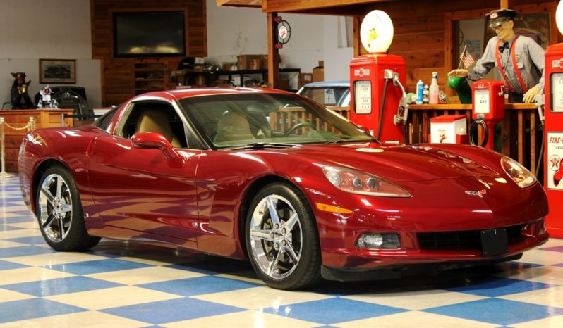 2006 Chevrolet Corvette – Monterey Red full
