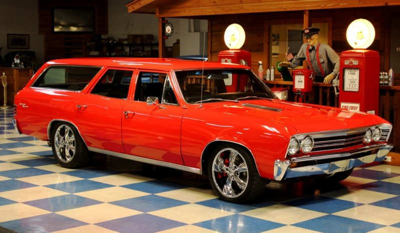 1967 Chevrolet Chevelle Wagon – Red full