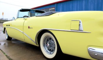 1954 Buick Super Convertible Resto Mod – Yellow / Black full