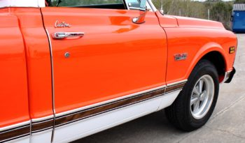 1971 GMC 1500 Pickup – Hugger Orange / White full