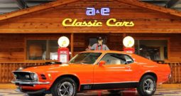 1970 Ford Mustang Mach 1 – Calypso Coral / Black