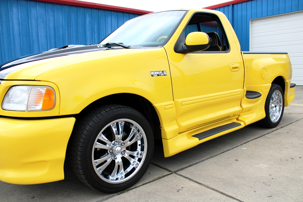 2002 Ford F150 Boss 5 4l Special Edition Bright Yellow