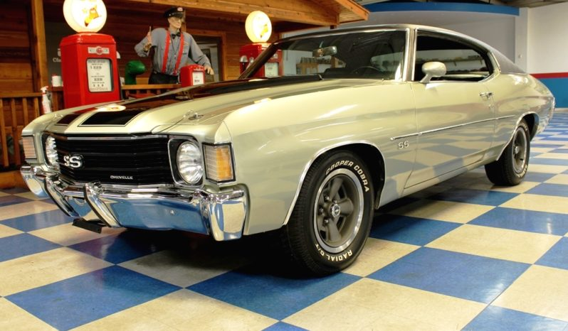 1972 Chevrolet Chevelle – Pewter Silver / Black full