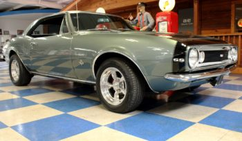 1967 Chevrolet Camaro – Mystic Green / Black full