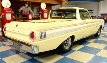 1965 Ford Ranchero – Springtime Yellow / White full