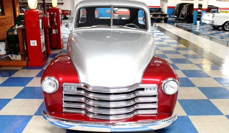 1949 Chevrolet 3100 Pickup – Burgundy / Silver full