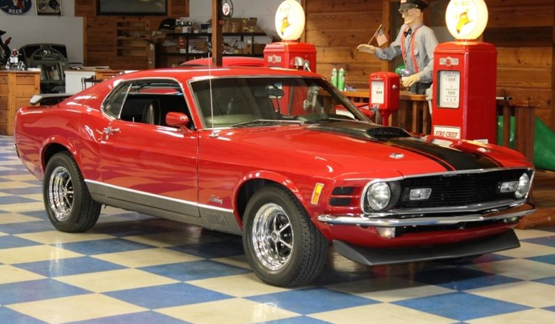 1970 Ford Mustang Mach 1 – Red / Black full