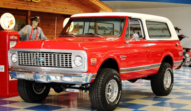 1972 Chevrolet Blazer 4×4 – Red / White full