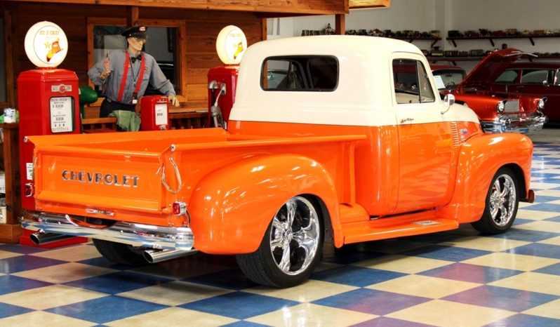 1953 Chevrolet 3100 Pickup TPI – Orange / Ivory full