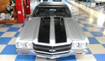1971 Chevrolet Chevelle – Silver / Black full