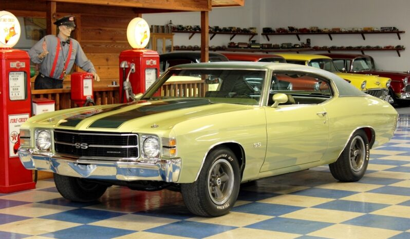 1971 Chevrolet Chevelle SS – Light Green / Dark Green full