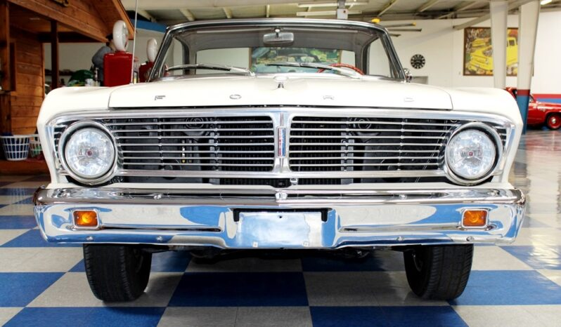 1965 Ford Falcon – White / Red full
