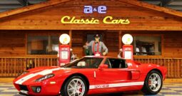 2005 Ford GT 945 MILES / ALL 4 OPTIONS – Mark IV Red / White