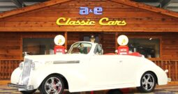 1939 Packard 120 Convertible Coupe – Pearl White