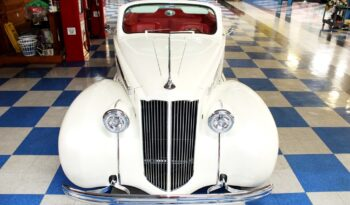 1939 Packard 120 Convertible Coupe – Pearl White full