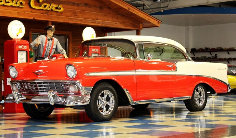 1956 Chevrolet Bel Air – Red / Ivory full
