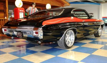 "1970 Chevrolet Chevelle ""Project American Heroes III"" – Black / Red full"