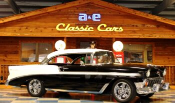 1956 Chevrolet Bel Air – Black / White full