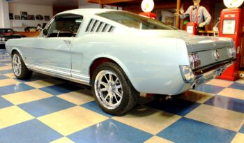 1965 Ford Mustang GT Fastback – Silver Blue / White full