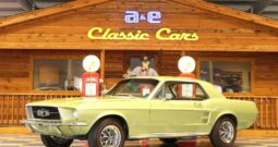 1967 Ford Mustang Coupe – Lime Gold