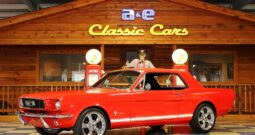 1966 Ford Mustang Coupe – Red / White