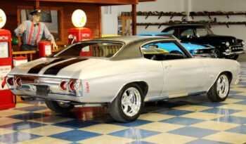"1972 Chevrolet Chevelle SS ""Tribute"" – Silver / Black full"