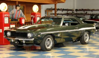 "1969 Chevrolet Camaro Yenko ""Tribute"" – Fathom Green / White full"