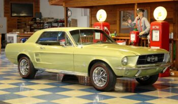 1967 Ford Mustang Coupe – Lime Gold full