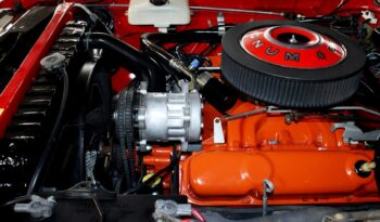 1969 Dodge Charger R/T 440 – Red / White full