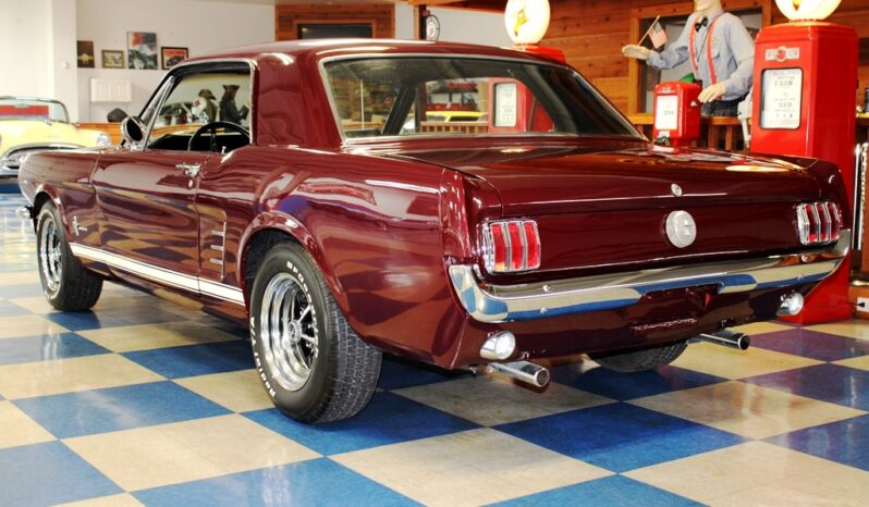 1966 Ford Mustang Coupe – Vintage Burgundy Metallic full