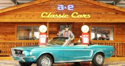 1968 Ford Mustang GT Convertible – Gulfstream Aqua / Parchment