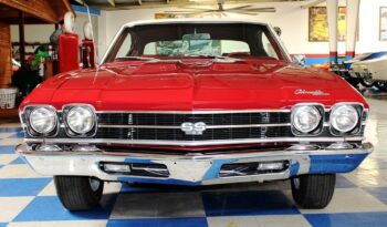 1969 Chevrolet Chevelle SS396 – Red / Parchment full